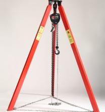 使用劣质起重三角架容易带来哪些危害